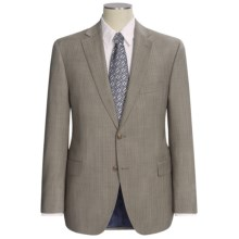 Jack Victor Herringbone Stripe Suit (For Men) in Taupe - Closeouts