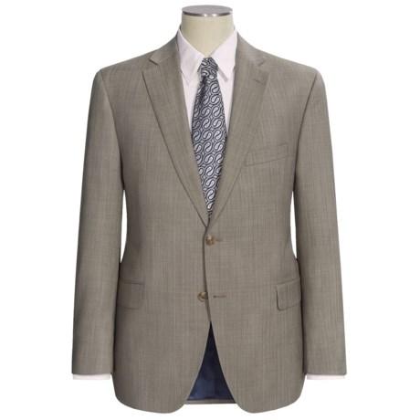 Jack Victor Herringbone Stripe Suit (For Men) in Taupe