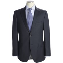 Jack Victor Herringbone Stripe Suit - Loro Piana Wool (For Men) in Charcoal - Closeouts