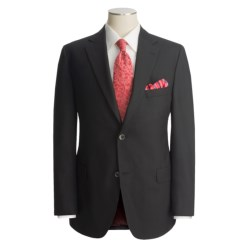 Jack Victor Hopsack Blazer - Wool (For Men) in Black