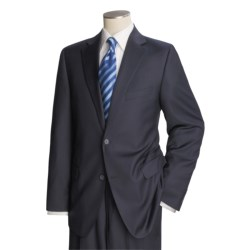 Jack Victor Loro Piana Suit - Worsted Wool (For Men) in Charcoal