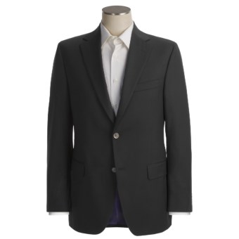 Jack Victor Loro Piana Wool Blazer  (For Men) in Black