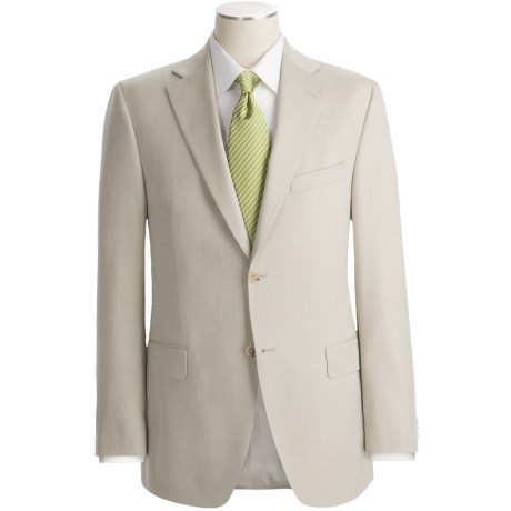 Jack Victor Loro Piana Wool Suit (For Men) in Charcoal