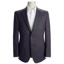 Jack Victor Micro Neat Sport Coat - Wool (For Men) in Brown - Closeouts