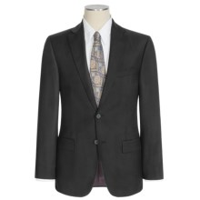 Jack Victor Napoli Wool Mini-Herringbone Suit (For Men) in Black - Closeouts