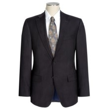 Jack Victor Napoli Wool Narrow Stripe Suit (For Men) in Charcoal - Closeouts