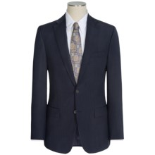 Jack Victor Napoli Wool Pindot Stripe Suit (For Men) in Navy - Closeouts