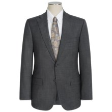 Jack Victor Napoli Wool Sharkskin Suit (For Men) in Grey - Closeouts