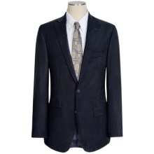 Jack Victor Napoli Wool Tonal Stripe Suit (For Men) in Navy - Closeouts