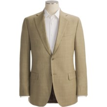 Jack Victor Plaid Sport Coat - Wool-Silk (For Men) in Tan - Closeouts