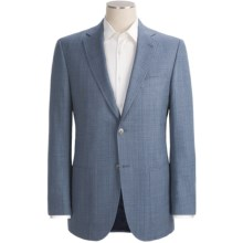 Jack Victor Screen Weave Sport Coat - Wool-Silk (For Men) in Blue - Closeouts