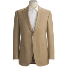Jack Victor Screen Weave Sport Coat - Wool-Silk (For Men) in Tan - Closeouts