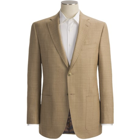 Jack Victor Screen Weave Sport Coat - Wool-Silk (For Men) in Tan