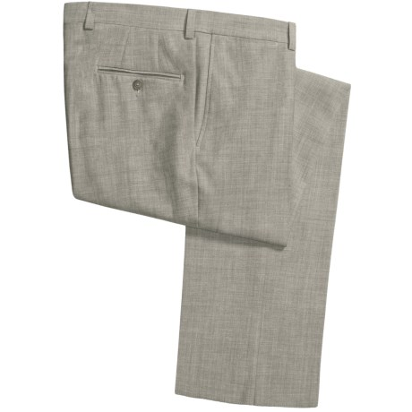 Jack Victor Shantung Weave Pants (For Men) in Green