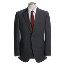 Jack Victor Slim Jim Track Stripe Suit - Wool (For Men) in Black - Closeouts