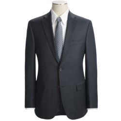 Jack Victor Slim Jim Track Stripe Suit - Wool (For Men) in Navy