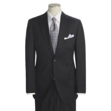 Jack Victor Solid Suit - Wool (For Men) in Black - Closeouts