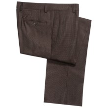 Jack Victor Spencer Neat Fancy Trouser Pants - Wool (For Men)