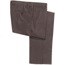 Jack Victor Spencer Neat Pants - Merino Wool (For Men) in Brown - Closeouts