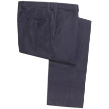 Jack Victor Spencer Neat Pants - Merino Wool (For Men) in Navy - Closeouts