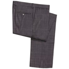 Jack Victor Spencer Pants - Overpane Check (For Men) in Charcoal - Closeouts