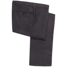 Jack Victor Spencer Pants - Wool Solid Fancy (For Men) in Grey - Closeouts