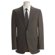 Jack Victor Subtle Tonal Stripe Suit - Wool (For Men) in Dark Taupe - Closeouts