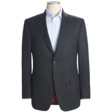 Jack Victor Tic Weave Sport Coat - Wool (For Men) in Navy/Black - Closeouts