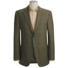 Jack Victor Tic Weave Sport Coat - Wool, Windowpane (For Men) in Brown - Closeouts