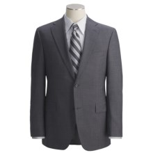 Jack Victor Tonal Shadow Stripe Suit - Wool (For Men) in Charcoal - Closeouts