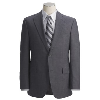 Jack Victor Tonal Shadow Stripe Suit - Wool (For Men) in Charcoal