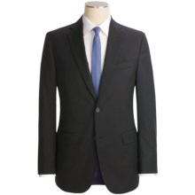 Jack Victor Trim Fit Suit - Loro Piana Wool (For Men) in Black - Closeouts