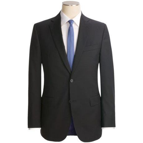 Jack Victor Trim Fit Suit - Loro Piana Wool (For Men) in Black