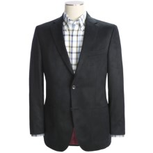 Jack Victor Ultrasuede Sport Coat (For Men) in Black - Closeouts