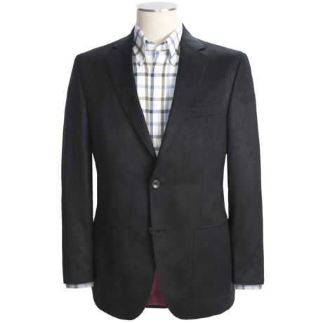 Jack Victor Ultrasuede Sport Coat (For Men) in Black