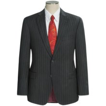 Jack Victor Verona Wide Stripe Suit - Wool (For Men) in Grey - Closeouts