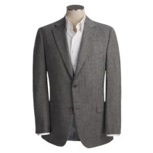 Jack Victor Wool Herringbone Sport Coat (For Men) in Black/White - Closeouts
