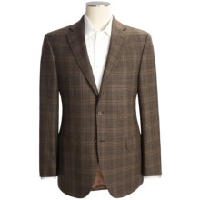 Jack Victor Wool Plaid Sport Coat (For Men) in Brown - Closeouts