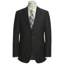 Jack Victor Wool Stripe Suit (For Men) in Black - Closeouts