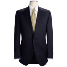 Jack Victor Worsted Wool Suit (For Men) in Black - Closeouts