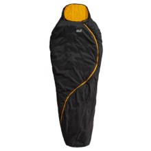 Jack Wolfskin 23°F Smoozip -5 Sleeping Bag in Black - Closeouts
