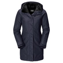 Jack Wolfskin 5th Avenue Texapore Coat - Insulated (For Women) in Night Blue - Closeouts