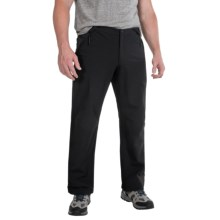 Jack Wolfskin Activate II Soft Shell Pants (For Men) in Black - Closeouts