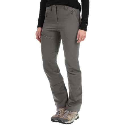 Jack Wolfskin Activate Pants - Soft Shell (For Women) in Tarmac Grey - Closeouts
