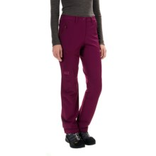 Jack Wolfskin Activate Pants - Soft Shell (For Women) in Wild Berry - Closeouts