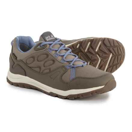 Jack Wolfskin Activate Texapore Low Trail Running Shoes - Waterproof (For Women) in Dusk Blue - Closeouts
