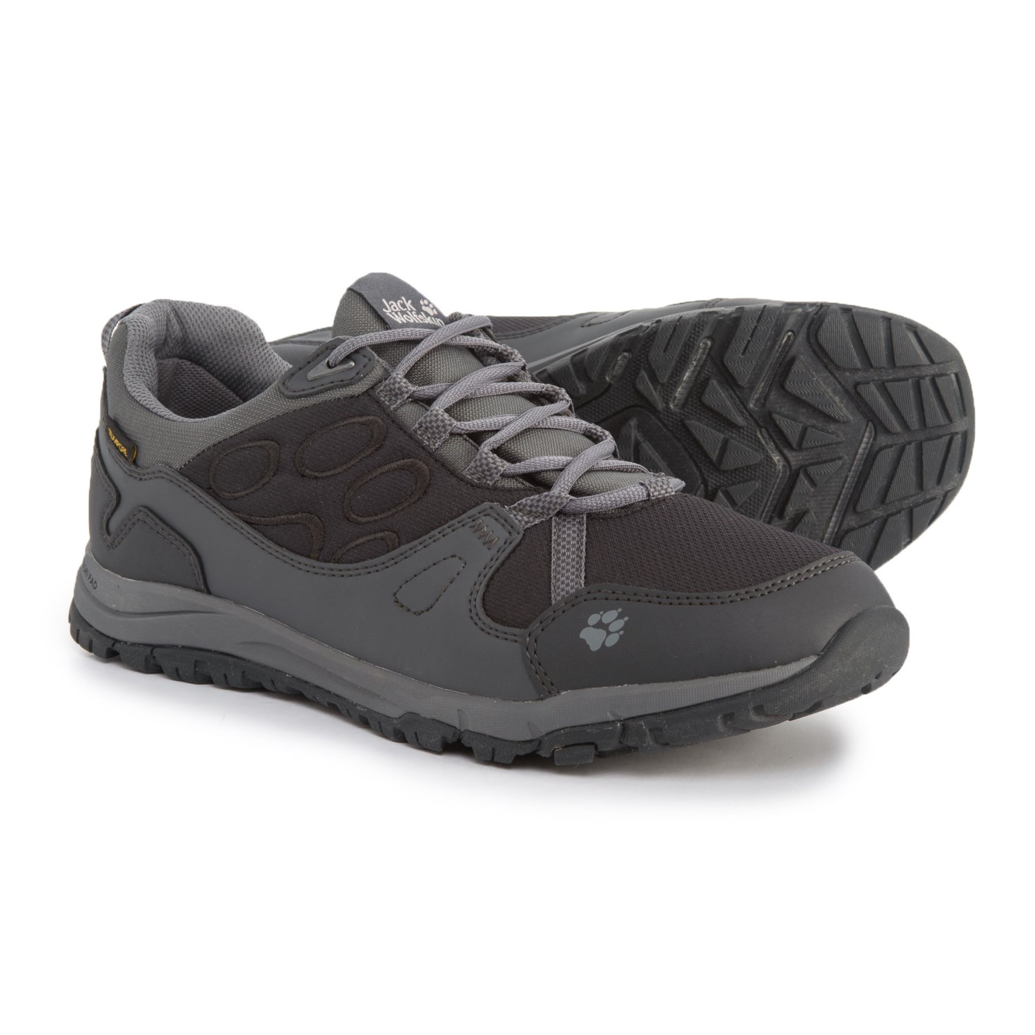 489d8af568e Jack Wolfskin Activate Texapore Low Trail Running Shoes - Waterproof (For  Women) in Phantom