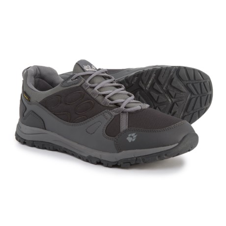 Jack Wolfskin Activate Texapore Low Trail Running Shoes - Waterproof (For Women) in Phantom