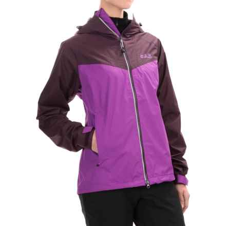 Jack Wolfskin Airrow Texapore Air Jacket - Waterproof (For Women) in Hyacinth - Closeouts