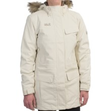Jack Wolfskin Alberta Texapore Parka - Waterproof, Insulated (For Women) in White Sand - Closeouts